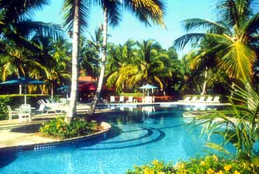 View of the Pool at the Copamarina Beach Resort in Puerto Rico